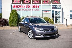 2013 Honda Accord Touring * GPS * Cuir * Bluetooth * Full equip