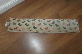 Laura Ashley Draught Excluder,Scottie Dog/West Highland Terrier,Vintage Style