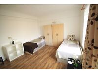 AMAZING TWIN ROOM TO OFFER NEXT TO MANOR HOUSE TUBE STATION. 13M