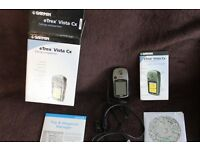 GARMIN eTREX VISTA Cx Hand help GPS Hiking Companion