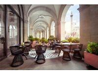 Host needed for beautiful new restaurant in Trafalgar Square