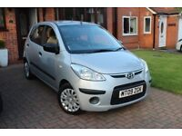 IMMACULATE HYUNDAI i10 , 1 LADY OWNER, LOW MILEAGE, SERVICED MOT AND 12 MONTHS TAX , HPI REPORT