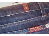 For All Mankind jeans. Bootcut