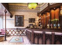 Part Time Bar Staff required for The Hop, 11-12 Fossgate, York, North Yorkshire, YO1 9TA