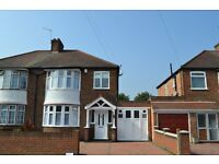 Three bedroom family semi-detached house