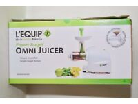 L'Equip Omni Masticating Juice Press