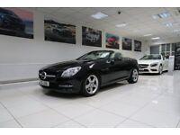 MERCEDES-BENZ SLK 2.1 SLK250 CDI BlueEFFICIENCY 7G-Tronic Plus 2dr Auto (black) 2012