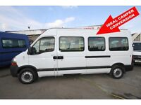 RENAULT MASTER LWB 7 SEAT BUS – 07-REG (IDEAL CAMPER CONVERSION)