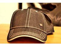 Dark Blue Denim Firetrap Snapback Hat Cap: Unisex New with tags (Adjustable)