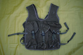 Vintage French Army / Foreign Legion CANVAS Assault Vest