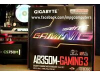 Streaming/Gaming PC Ryzen 7 1700 with Prism RGB,GTX970, 16GB ram, 250GB m.2 SSD, 2TB hdd,gold PSU,