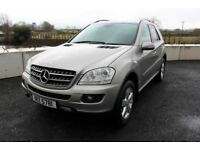 08 MERCEDES ML 320 CDI SE 4MATIC 4X4 AUTO ++ FULL HEATED LEATHER & SAT NAV ++