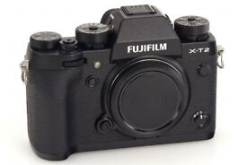 Fuji X-T2 in mint condition and 100% like new still 2yrs approx warranty left