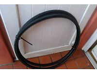 Racing Bike Tyres 700 x 25c Fast Tread Pattern For Road and Cycle Track Pair of New Tyres £15
