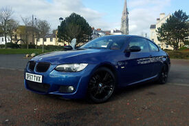 LATE 2007 BMW 320D M-SPORT COUPE AUTOMATIC