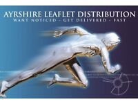 LEAFLET DISTRIBUTION STAFF REQUIRED FOR AYRSHIRE AND SOUTH GLASGOW