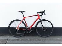 Cannondale Synapse Disc Tiagra 2016 size 56 cm super fast and lightweight