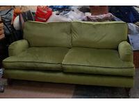 Green Velvet 'Florence' 3 seater by SofaSofa.