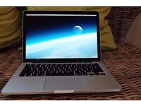 Macbook pro 2.7ghz i5 250gb 8gb 2015