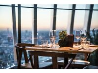 Waiter / Waitress - Darwin Brasserie - The Sky Garden