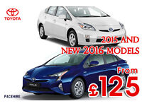 CHEAPEST PCO CAR HIRE / UBER RENT / BRAND NEW TOYOTA PRIUS 2015 / 2016 and 2017 models UBER READY