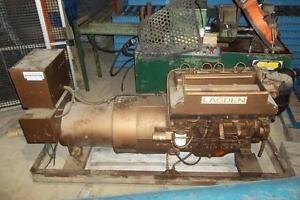 (USED) GENERATOR / DIESEL ENGINE 600V / 40KVA