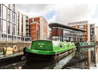 Houseboat to Rent - Widebeam Canal Boat to let month to month