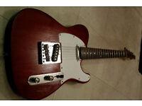 TELECASTER Electric Guitar Mahogony/ Rosewood neck fender strings