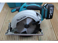 Makita DSS611 (2016) 18v Li-ion Circular Saw 165mm LXT With 1 x 3.0Ah Battery, Charger and Case