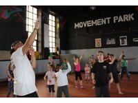 street dance kids class at movement park