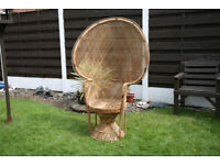 Large Peacock Chair for Sale