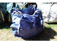 Large waste bags. Heavy duty. Great for garden clearance. Leaf clearance. Cuttings. Sold in 5 packs