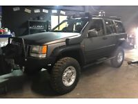 JEEP GRAND CHEROKEE LIMITED EDITION Quick sale 2.5 td 1998 Modified.