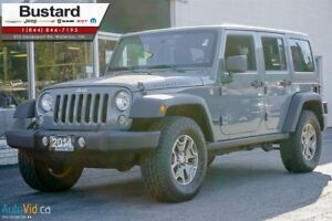 2014 Jeep Wrangler RUBICON | UNLIMITED | AUTO | DUAL TOP | ON SA