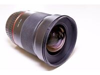 Samyang 24 mm F1.4 for Canon - Price drop!