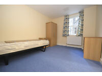 Room with brand new fixtures and fittings sharing just kitchen with other single people.
