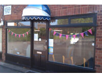 Hairdressers Hairdresser Lockup Shop Lease Rent c/w parking, beautiful location, full frontage