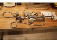 Almost new, Cooke & Lewis mixer shower set (incl shower, tap, fittings & instructions)!