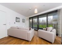 Lovely 2 Bed 2 Bath Apartment with Balcony and Amazing Park Views, moments to Pontoon Dock DLR- VZ