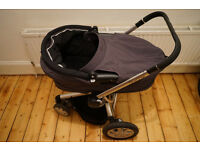Quinny Buzz Xtra, Pram and Pushchair Dark Grey Tones (Colour goes with Everything ;) )
