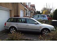 Volkswagen Passat 1.9TDi 110 bhp Estate 1998 R. 110K. No MOT.