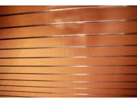 ***Wooden slat boards with metal inserts***UNBEATABLE QUALITY & PRICE: £29.99+VAT*****