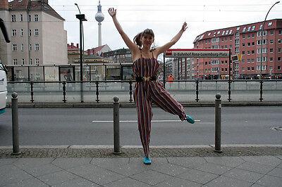 Kuschat Mädchen Mode Sommer Overall 70er True VINTAGE 70´s summer jumpsuit