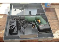 Bosch Cordless Drill in a Case with Charger