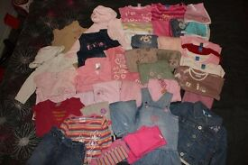 Baby girls clothes bundle - Various sizes between 3mths - 2yrs. REDUCED TO £15!!