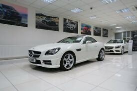 MERCEDES-BENZ SLK 1.8 SLK200 BlueEFFICIENCY AMG Sport Edition 125 7G-Tronic Plus 2dr Auto 2011