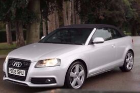 Audi A3 Cabriolet 2.0 TDI Sport S Tronic 2dr FULL SERVICE HISTORY