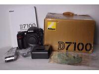 Nikon D7100 DSLR Digital Camera (Body Only)