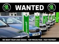 We Want Your ŠKODA - Top Prices Paid - Fast Payment - Get Extra Cash For Christmas - Get In Touch