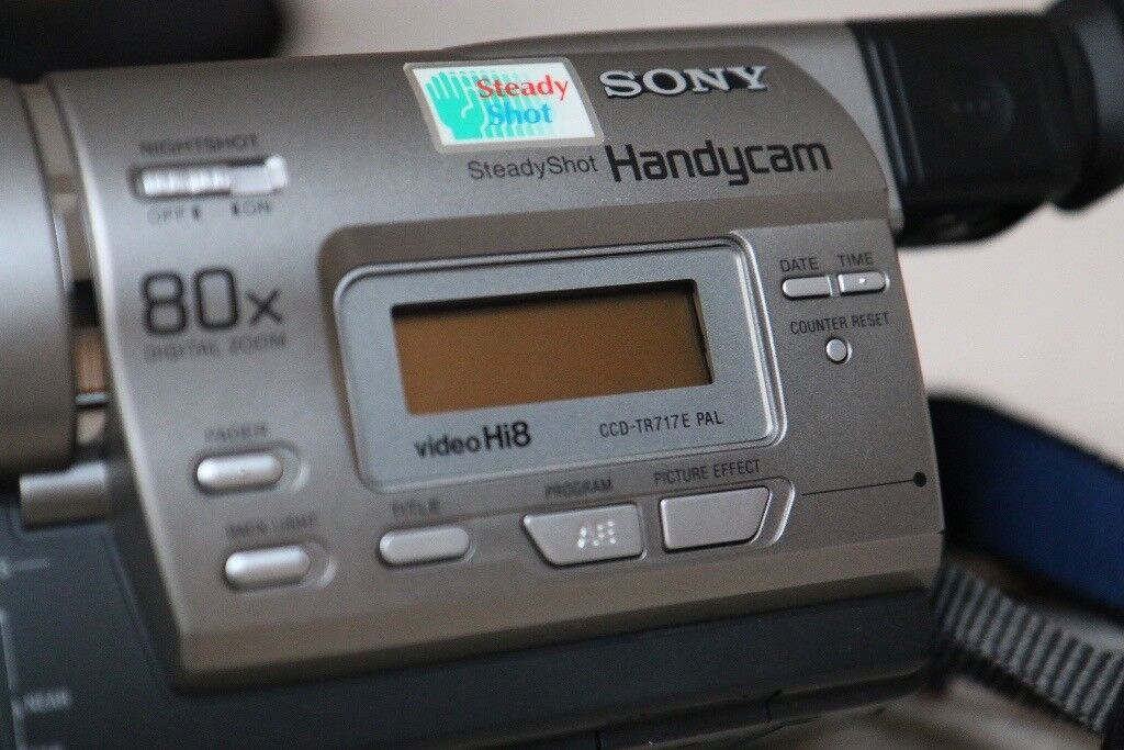 SONY Hi8 Analogue Camcorder